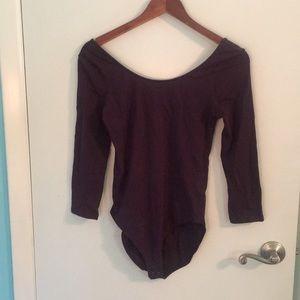 Express Purple Bodysuit